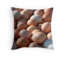 Market - Eggs Throw Pillow