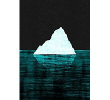 ICEBERG AHEAD! Photographic Print