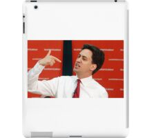 ed miliband pointing at himself iPad Case/Skin
