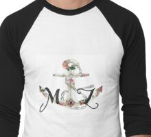 M . Z Men's Baseball ¾ T-Shirt