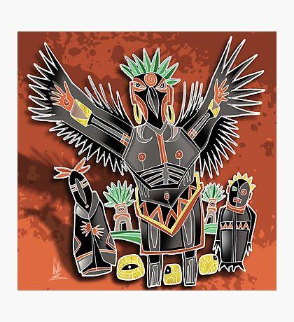 crow shaman Photographic Print