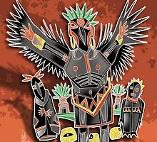 crow shaman by arteology