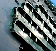 Mariner of the Seas, Royal Caribbean Line. by Christopher Biggs