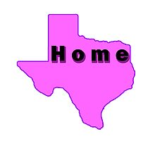 Iskybibblle /Home Range / Texas Pink Photographic Print