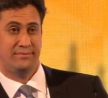 ed miliband giving you the eyes Sticker