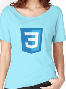 Silicon Valley - CSS3 Logo Women's Relaxed Fit T-Shirt