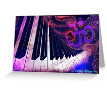 Music for the soul Greeting Card
