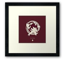 Pokemon Type - Dark Framed Print
