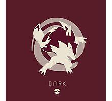 Pokemon Type - Dark Photographic Print