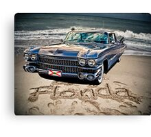 ocean drive Canvas Print