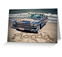 ocean drive Greeting Card