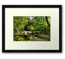 The Bridge at May Beck Framed Print