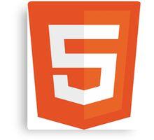 Silicon Valley - HTML5 Logo Canvas Print
