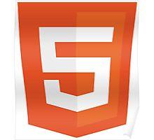 Silicon Valley - HTML5 Logo Poster