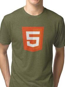 Silicon Valley - HTML5 Logo Tri-blend T-Shirt