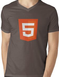 Silicon Valley - HTML5 Logo Mens V-Neck T-Shirt