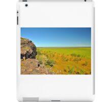 Ubirr rock and flood plain iPad Case/Skin