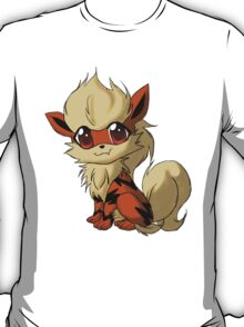 Arcanine Pokemon Design T-Shirt