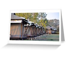 Safari Tents Greeting Card
