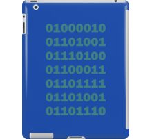 Binary Bitcoin iPad Case/Skin