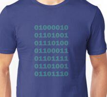 Binary Bitcoin Unisex T-Shirt