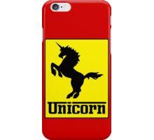 Prancing Unicorn Car Logo Parody T Shirt iPhone Case/Skin