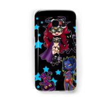 Tarot & Friends Chibi design on Black! Samsung Galaxy Case/Skin
