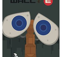 Wall-E Poster by JakeSynth