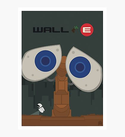 Wall-E Poster Photographic Print