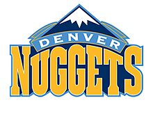 Denver Nuggets Photographic Print