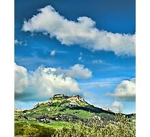 The city of Enna, Sicily Photographic Print