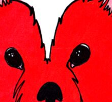 Cutie Red Fox Sticker