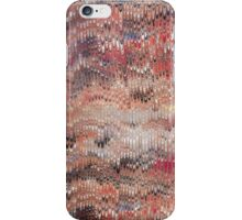 marbled paper - featherlets iPhone Case/Skin