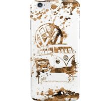 Volkswagen Kombi Splash Sepia iPhone Case/Skin