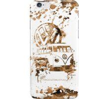 Volkswagen Kombi Splash Sepia © iPhone Case/Skin