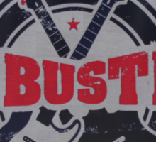 McBusted logo take of The Mighty Ducks Sticker