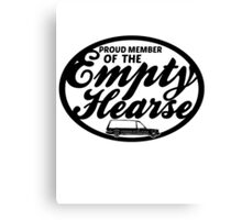 Empty Hearse Canvas Print