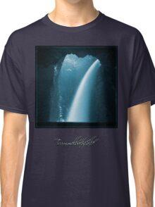 Trümmelbachfälle: cyan 2 (T-Shirt) Classic T-Shirt