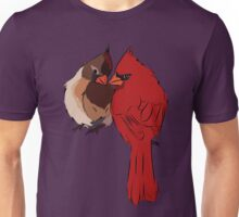 Two Cardinals in Love Unisex T-Shirt