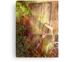 Old Shovel Canvas Print