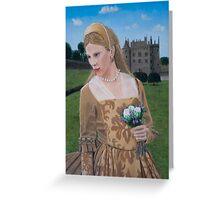 Medieval Girl III Greeting Card