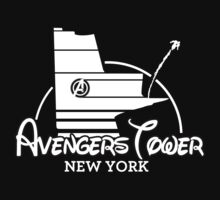 Avengers Tower (or Castle) from Age of Ultron (White) by zenjamin