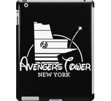 Avengers Tower (or Castle) from Age of Ultron (White) iPad Case/Skin