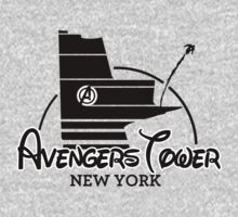 Avengers Tower (or Castle) from Age of Ultron by zenjamin