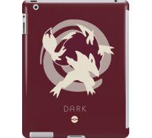Pokemon Type - Dark iPad Case/Skin