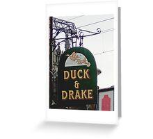 Duck & Drake Greeting Card
