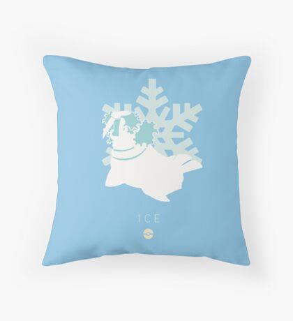Pokemon Type  - Ice Throw Pillow