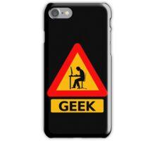 Geek Sign iPhone Case/Skin