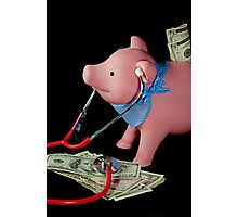 Financial Fitness Photographic Print