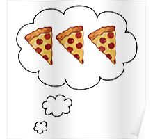 PIZZA ON MY MIND Poster